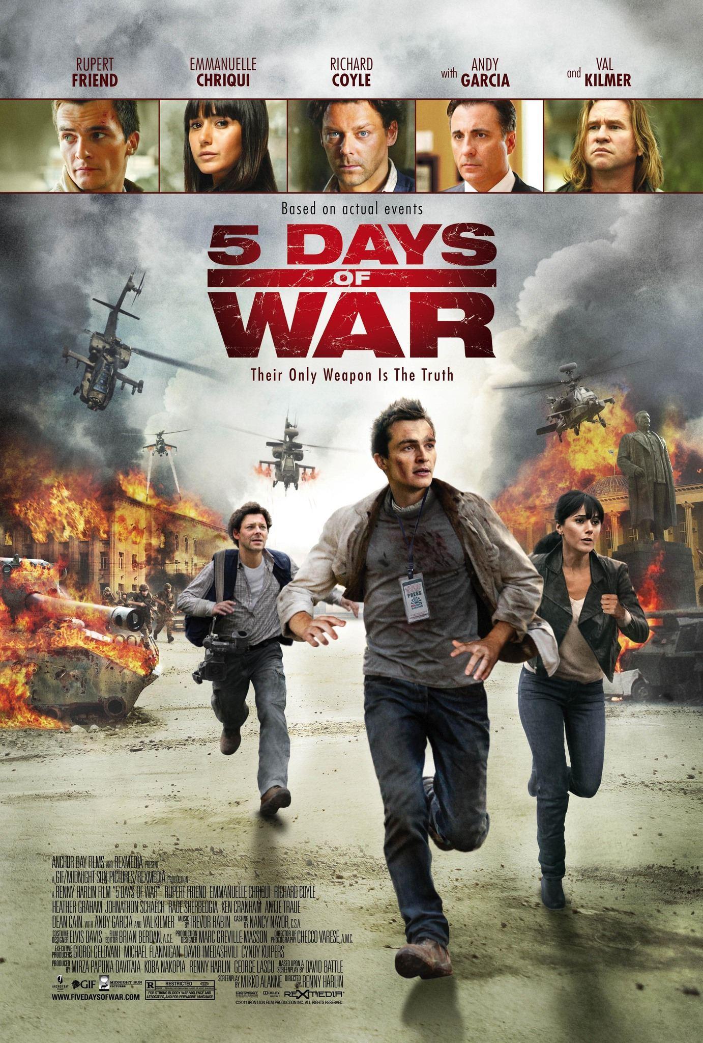5 дней в августе 2011  фильм бесплатно